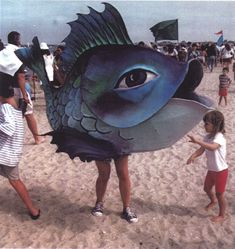 Miracle Fish Puppets by Vinnie Lovegrove