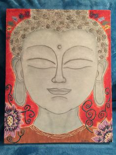 Buddha head Buddha Head, Disney Characters, Fictional Characters, Aurora Sleeping Beauty, My Arts, Disney Princess, Painting, Painting Art, Paintings