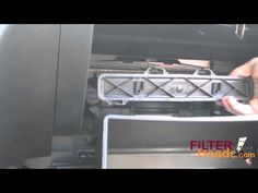 Cabin Air Filter Replacement   Chevrolet Traverse   YouTube