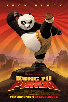 Kung Fu Panda voices of Jack black, Dustin Hoffman & Angelina Jolie. In the Valley of Peace, Po the Panda finds himself chosen as the Dragon Warrior despite being obese and a novice at martial arts! Dreamworks Movies, Dreamworks Animation, Animation Movies, Kung Fu Panda 3, Panda Movies, Cartoon Movies, Disney Pixar, Disney Films, Disney Cartoons