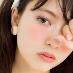 """I'm currently OBSESSED with Japanese """"Igari"""" makeup!!!!! Even tho """"Igari"""" translates to hangover, hmmmm... I love how fresh it looks. Not like a hangover at all. So oh well, I still like it. I love the high blush."""