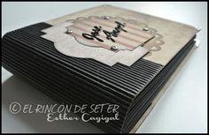 El Rincón de Seter: Álbum masculino Album, Money Clip, Scrapbooking, Wallet, Truths, Men's, Men, Money Clips, Scrapbooks