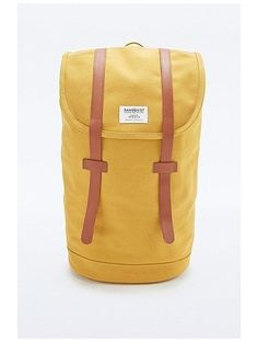 Sandqvist Stig Backpack in Yellow http://sellektor.com/plecaki/strona-11?order=newest