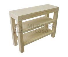 Mesa de arrime Asia con 2 estantes en Muebles en Casa - Muebles y decoracion con envio gratis