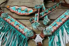 We offer Custom Made, Hand Made Tack...  www.facebook.com/customchrometack