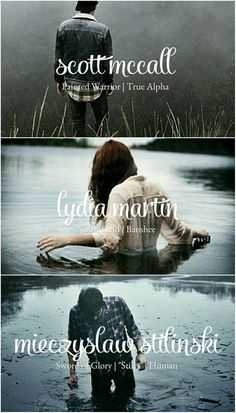 McMartinski - Teen Wolf - Scott McCall, Lydia Martin, and Stiles Stilinski