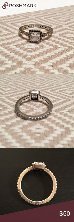 Pandora Timeless Elegance Ring Pandora Timeless Elegance Ring only worn a few times!  Size 58 (8-8.5) Offers accepted  Pandora Jewelry Rings #pandorajewelry