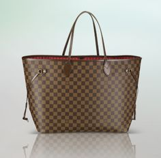 Louis Vuitton Neverfull GM in Damier Ebene Canvas Ryan got me this for xmas! :)