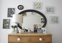 How to re-style your dressing table by www.apartmentapothecary.com