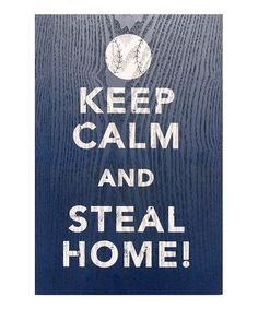Dress up his workshop or office with this industrial-inspired wall sign. A simple message adds masculine edge. Baseball Posters, Softball Gifts, Keep Calm Posters, Cross Crafts, Spring Projects, Poster Ideas, Sign Language, Wall Signs, Cricut
