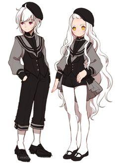 images for anime art 5 Anime, Kawaii Anime, Anime Art, Sailor Outfits, Anime Outfits, Manga Comics, Character Concept, Character Art, Character Reference
