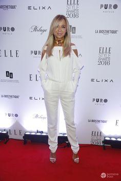 Joanna Przetakiewicz na imprezie Elle Style Awards 2016