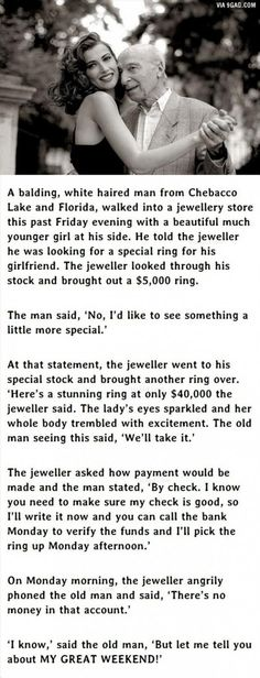 Man Goes To Buy Jewellery For His Girlfriend. What He Does Next Is Genius. - 9GAG