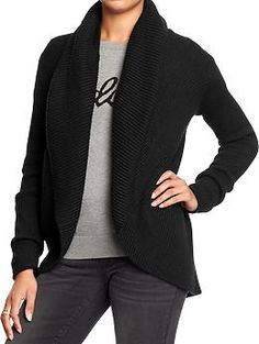 Women's Open-Front Cocoon Cardigans Product Image | sweaters ...