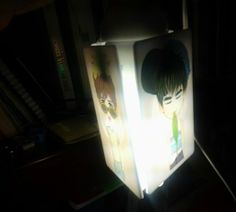 LampCOVER | silent of the LAMP ..°°.. | acrylic fanART | created by +RATNA HAR (Little Lumut)