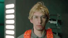 """Adam Driver as """"Matt/Kylo Ren"""" on an SNL Undercover Boss skit"""