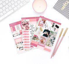 Like a Boss Photo Weekly Planner Sticker kit Bullet Journal Inspiration, Like A Boss, Smash Book, Weekly Planner, Filofax, Happy Planner, Planner Stickers, Kit, Planners
