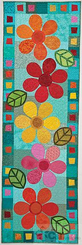 Kim Schaefer's Skinny Quilts Table Toppers