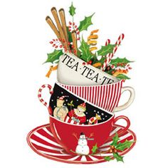 Christmas Teacup (design by Mary Lake-Thompson)