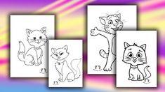 kedi boyama - okul öncesi boyama sayfası - kedi tom bpyama - Kedi Boyama Sayfası - Okul Öncesi Kedi Boyaması - Didiyom Tv Panda, Tv, Television Set, Pandas, Television