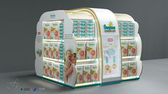 PAMPERS STAND on Behance