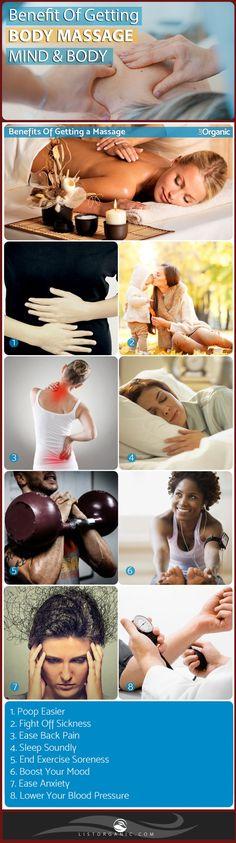 Benefits Of Getting a Massage. #health #benefits #bodymassage #massage