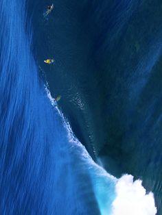 Perfect Blue. Photo: John Respondek #ocean #surf #blue #wave