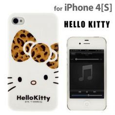 Sanrio Hello Kitty Character Jacket for iPhone 4S/4 (Leopard)  1,980 JPY  (24.50 USD)  Model: 111-960190  18 Units in Stock