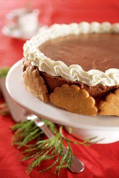 Elinan suklaahyytelökakku | K-ruoka #joulu #piparkakku Crepe Cake, Yule Log, Specialty Cakes, Dessert Recipes, Desserts, Christmas Baking, Chocolate Recipes, Sweet Recipes, Bakery
