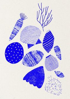 Using primary colours and traditional printmaking techniques, Leeds College of Art graduate Abbey Withington creates colourful and graphic designs, that remind me of… Graphic Design Illustration, Graphic Art, Illustration Art, Hand Printed Fabric, Printing On Fabric, Leeds College Of Art, Marimekko, Design Graphique, Surface Pattern Design