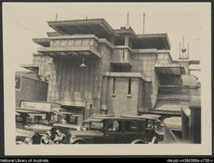 Midway Gardens / Location: Chicago, Illinois / Opened: 1914 Demolished: 1929 / Designer: Frank Lloyd Wright / Sculptors: Richard Bock and Alfonso Iannelli