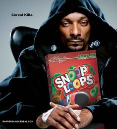Snoop Dogg for Snoop Loops™ 16 Cereal Brands If They Were Sponsored By Rappers Snoop Dogg, Kanye West, Ford Taurus, Photo Star, Z Cam, Hip Hop Rap, Football, Baseball, I Laughed