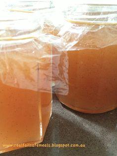 Real Meals: Pear & Vanilla Jam