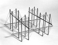 Kenneth Snelson/Key City/1968