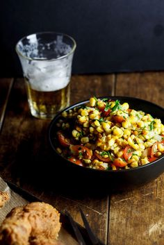 Roasted Corn Salad | The perfect side dish for your dinner tonight. Try it! #youresopretty