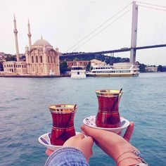 It's tea time! Enjoy the experience of having traditional Turkish tea with a breathtaking view! #istanbultouristpass #visitingistanbul #traveltheworld #istanbul #turkey #travel #instagood #trip #vacation #vacationmode #turkishtea It's tea time! Enjoy the experience of having traditional Turkish tea with a breathtaking view! #istanbultouristpass #visitingistanbul #traveltheworld #turkey #travel #instagood #trip #vacation #vacationmode #turkishtea