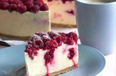 White+Chocolate+and+Raspberry+Cheesecake