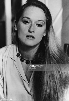 The American actress Meryl Streep.   (Photo by Keystone/Getty Images)
