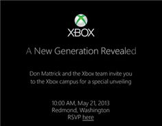 Microsoft to unveil 'new generation' Xbox on May 21 (Photo: Microsoft)