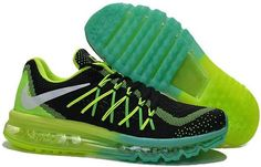 Air Max 2015 Flyknit Green Black