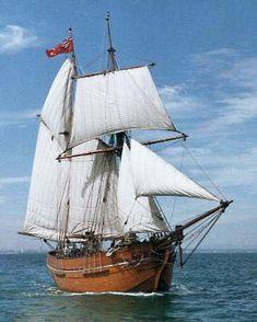 Schooner | Seascape Navigator - Topsail Schooner Enterprize