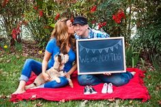 Baby Announcement. Such a fun idea when we adopt someday :)