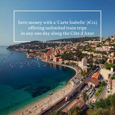 #francemagsecrets Train Travel, The Secret, Saving Money, Skiing, France, Beach, Ski, The Beach, Save My Money