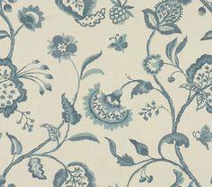 Möbelstoff / Blumenmotive NOYAK by Aerin Lauder Lee Jofa