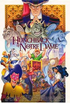 Original movie poster from The Hunchback of Notre Dame.