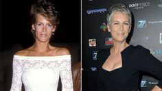 PHOTO: Jamie Lee Curtis attends the 31st Annual SHARE Boomtown Party, April 28, 1984 in Westwood, California. Jamie Lee Curtis attends the sCare Foundation's 1st Annual Halloween Launch Benefit, Oct. 30, 2011 in Los Angeles, California.