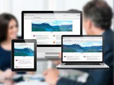 Diseño de Landing Page para empresa consultora de inversiones en Argentina. Desarrollo responsive en HTML5.