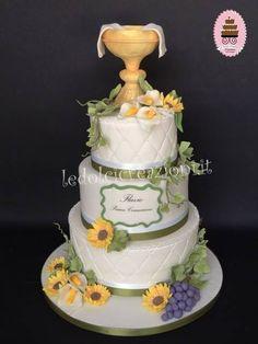 Holy Communion cake - www.ledolcicreazioni.it
