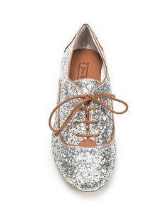 sparkle oxfords
