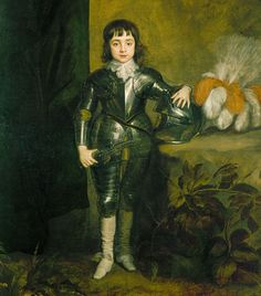 Studio of Sir Anthony van Dyck (1599-1641) - Charles II when Prince of Wales (1630-85)